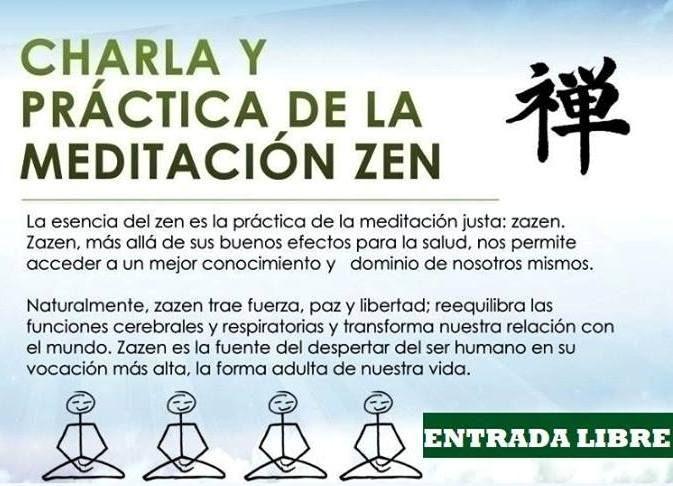 TALLER: MEDITACIÓN ZEN 'Zazén' @ CENTRO NAHUAL | Jaén | Andalucía | España