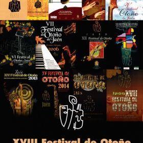 ESTE SÁBADO SE INAUGURA EL XVIII FESTIVAL DE OTOÑO DE JAÉN
