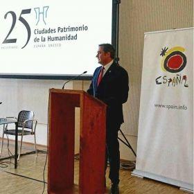 LAS 15 CIUDADES PATRIMONIO DE LA HUMANIDAD PRESENTARON AYER DÍA 10 DE MAYO SU OFERTA TURÍSTICA Y CULTURAL EN MILÁN