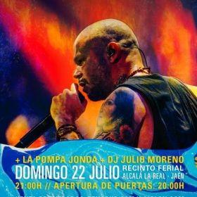 EL 22 DE JULIO 'RESIDENTE' EN CONCIERTO TRAS EL FESTIVAL 'ETNOSUR' EN ALCALÁ LA REAL