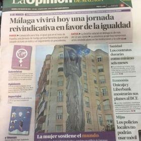 EL ARTISTA JIENENSE JOSÉ RÍOS INAUGURA HOY EN ESTEPONA SU ÚLTIMO MURAL  TITULADO 'ATLANTAS'