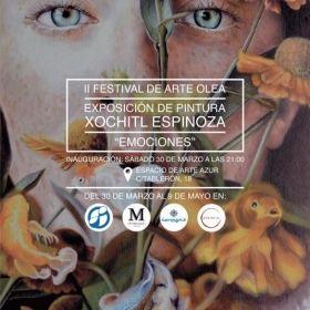 LA ARTISTA XOCHITL ESPINOZA INAUGURA ESTE SÁBADO DÍA 30 DE ABRIL LA EXPOSICIÓN 'EMOCIONES' EN LA GALERÍA 'ARTE AZUR' DE JAÉN