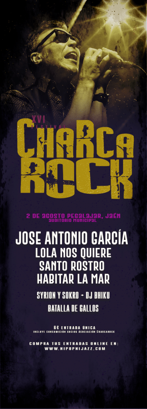 XVI FESTIVAL 'CHARCA ROCK' @ AUDITORIO MUNICIPAL, PEGALAJAR (JAÉN)