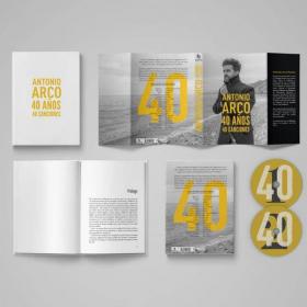 ARCO EDITA UN LIBRO  CD AUTOBIOGRÁFICO, CUARENTA AÑOS CONTADOS A TRAVÉS DE CUARENTA DE SUS CANCIONES MÁS INSPIRADORAS